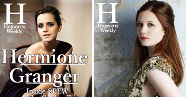 This Is What A Hogwarts' Celebrity News Magazine Would Look Like